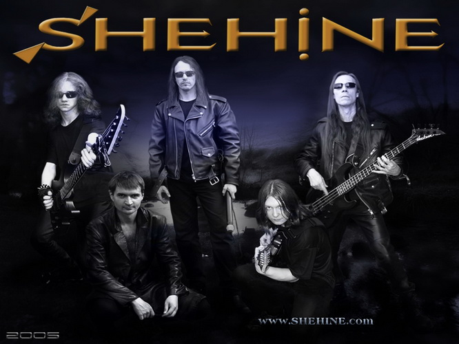 SHEHINE 2nd staff Metal band Poster